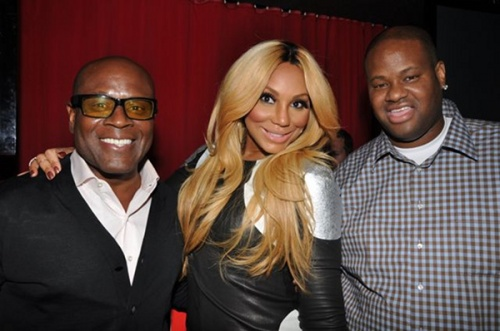 Tamar braxton continues her nyc promo rounds la reid tamar braxton and vince herbert m4hsunfo