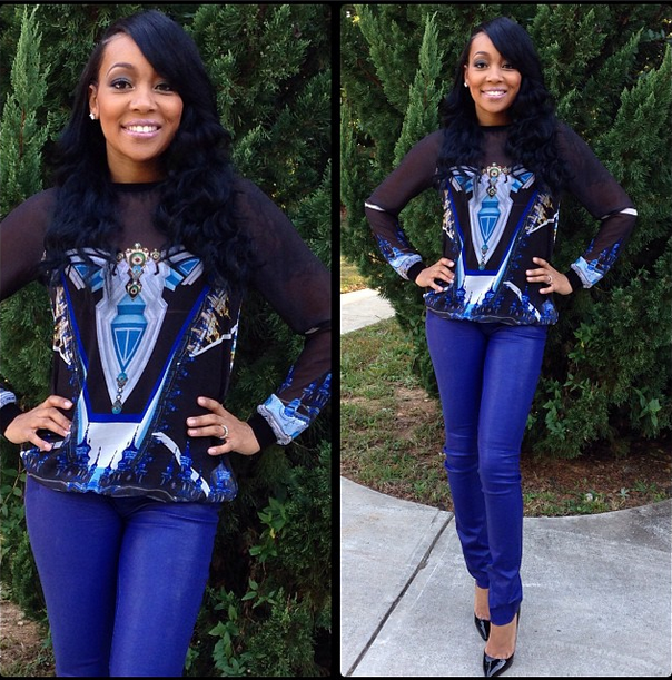 Tuesday On Instagram Moncia Tiny Yandy Smith Styling In
