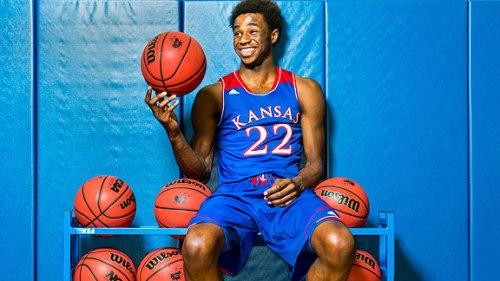 University of Kansas Andrew Wiggins college basketball NBA Draft