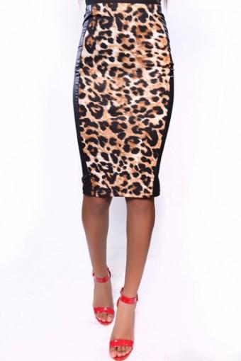 Leopard-Faux-midi-skirt-340x510