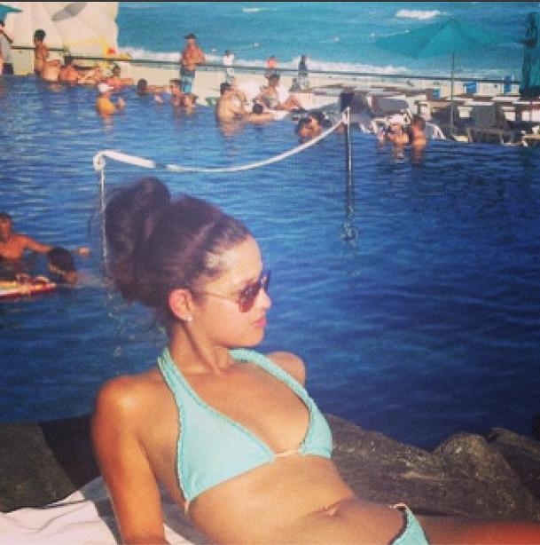 Angela simmons bikini 2013