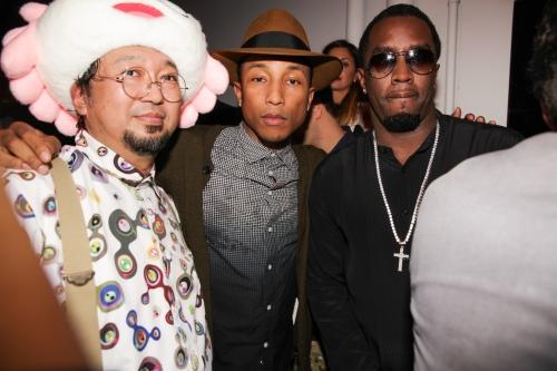 SILENCIO & MIAMI DESIGN DISTRICT Event Curated by Pharrell Williams & Takashi Murakami